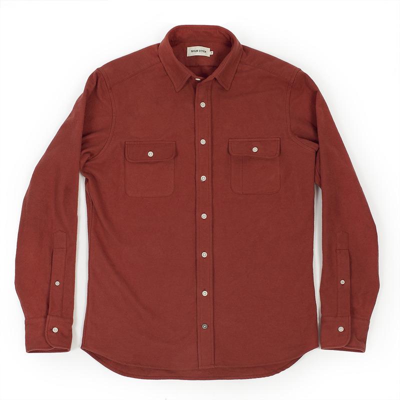 Rust Yosemite Shirt - featured image