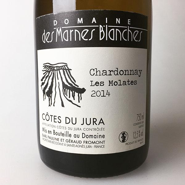 2014 Domaine des Marnes Blanches Chardonnay Les Molattes (ouille) 750 ml
