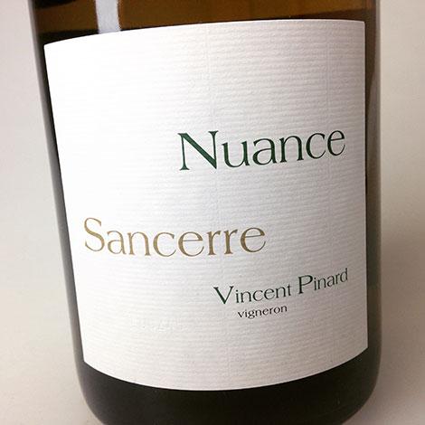 2014 Vincent Pinard Sancerre Nuance 750 ml