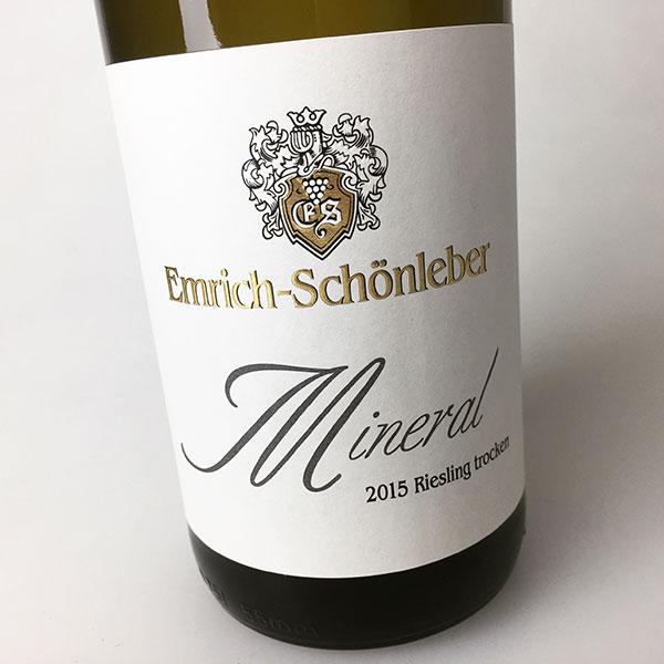 2015 Emrich-Schonleber Riesling Mineral Trocken (Dry) 750 ml