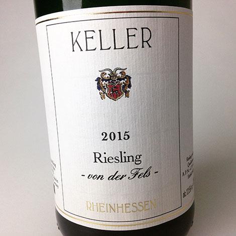 2015 Keller Riesling QbA Von Der Fels Trocken 750 ml