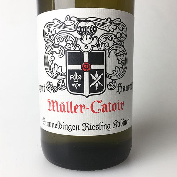 2015 Muller-Catoir Gimmeldinger Riesling Kabinett 750 ml