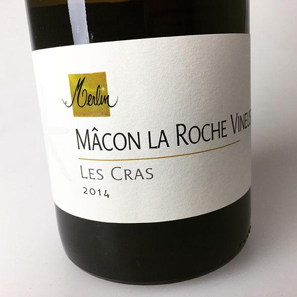 2014 Merlin, Olivier Macon La Roche Vineuse Les Cras 750 ml