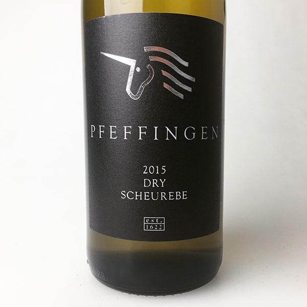 2015 Pfeffingen Scheurebe Estate Dry 750 ml