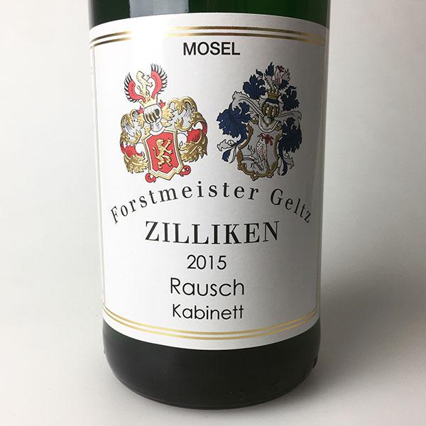 2015 Zilliken Riesling Kabinett Saarburger Rausch 750 ml