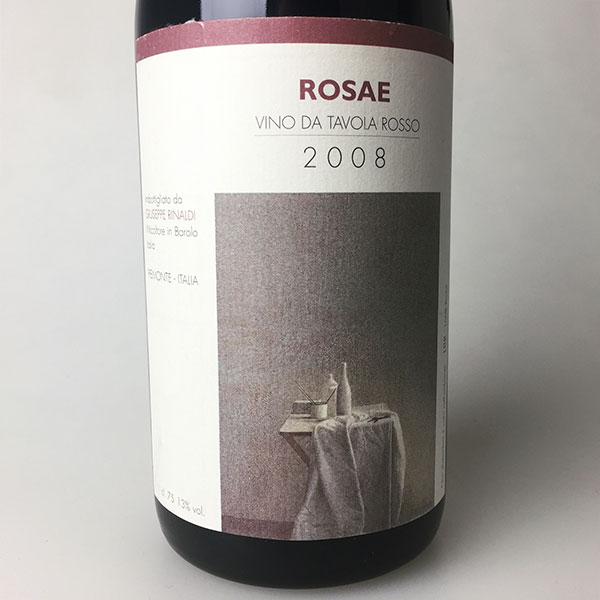 2008 Rinaldi, Giuseppe Rosae 750 ml