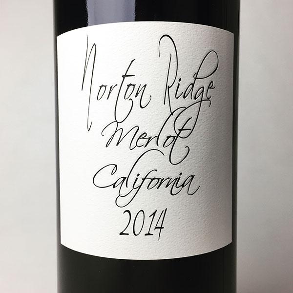 2014 Norton Ridge Merlot 750 ml