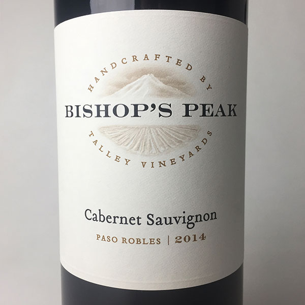 2014 Bishop's Peak Cabernet Sauvignon Paso Robles 750 ml