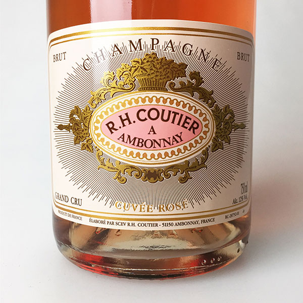 NV Coutier Brut Rose 750 ml