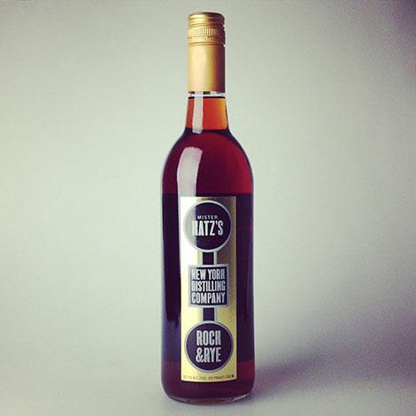 New York Distilling Company Mister Katz's Rock & Rye 750 ml