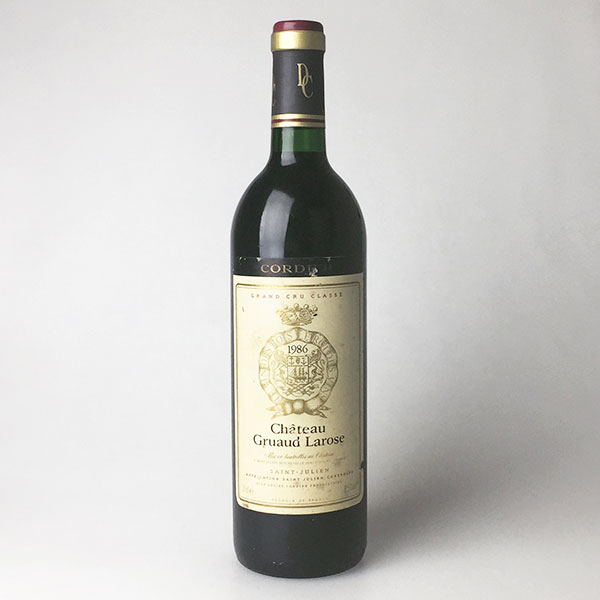1986 Chateau Gruaud Larose 750 ml