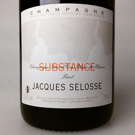 NV Selosse Cuvee Substance Blanc De Blancs 750 ml