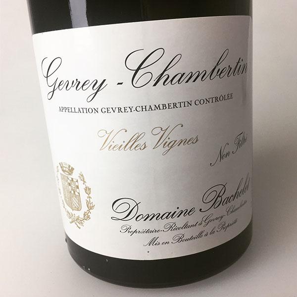 2011 Bachelet Gevrey-Chambertin Vieilles Vignes 750 ml