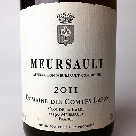 2011 Comtes Lafon Meursault 750 ml
