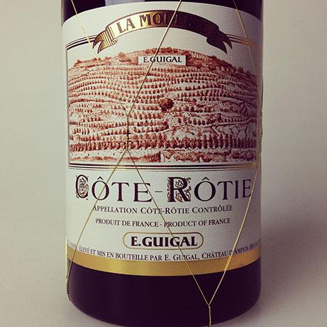 2011 Guigal Cote Rotie La Mouline 750 ml