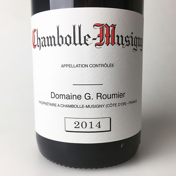 2014 Roumier Chambolle-Musigny 750 ml