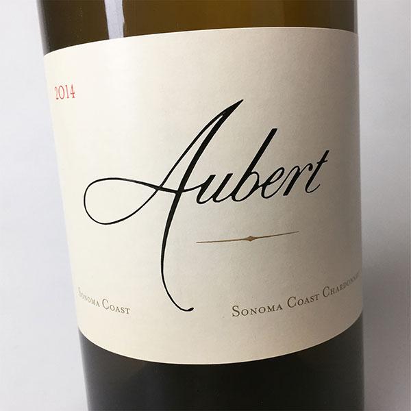 2014 Aubert Chadonnay Sonoma Coast 750 ml