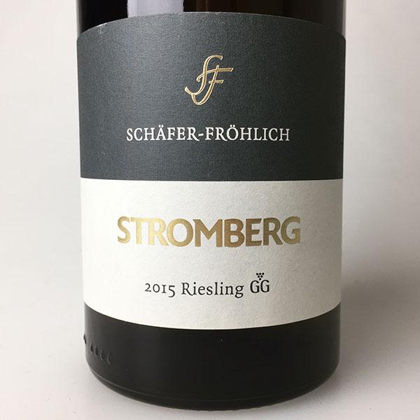 2015 Schafer-Frohlich Riesling Grosses Gewachs Bockenauer Stromberg Dry 750 ml