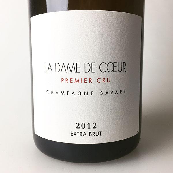 2012 Savart La Dame de Coeur 750 ml