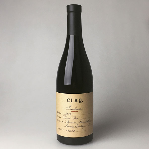 2013 Cirq Estate Pinot Noir Treehouse Vineyard 750 ml