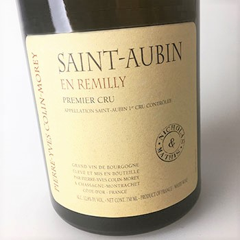 photo of bottle of Colin-Morey En Remilly N-M