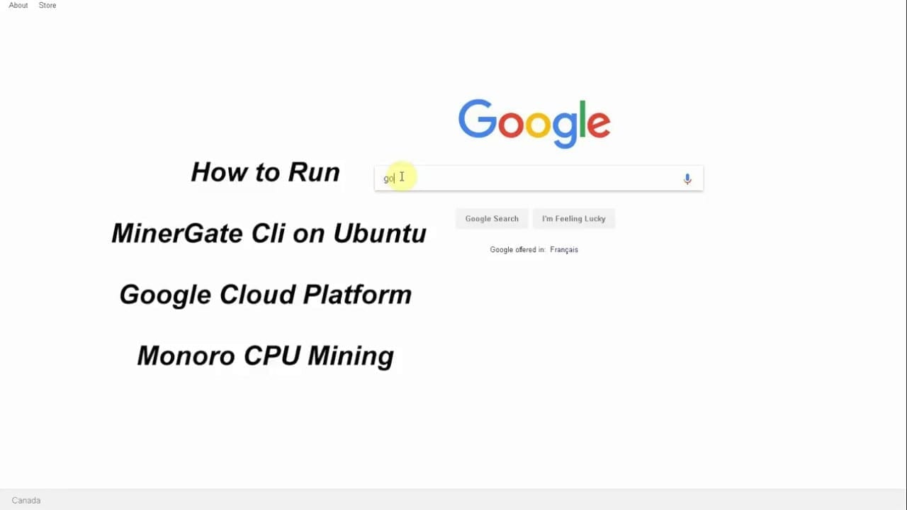 Mine Cryptocurrency for Free on Google Cloud | Crypto currency