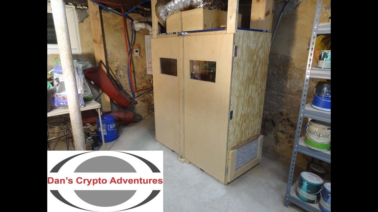 Gpu Rig Enclosure Venting Multiple Cryptocurrency Mining Rigs