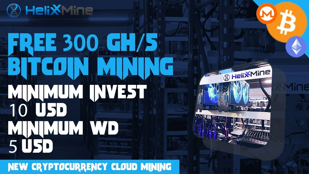 ✔️ HelixxMine : New Cryptocurrency Cloud Mining 2018 (Free