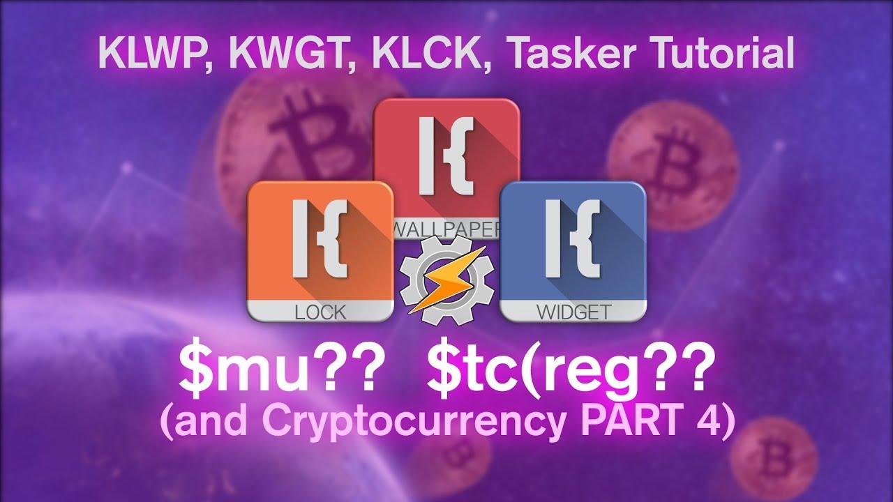 KLWP, KWGT, KLCK, Tasker Tutorial – Math Utilities and Text