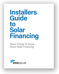CivicSolar Guide to Solar Financing