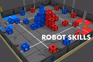 VEX Skyrise - Robot Skills 2014-15: Test your driving skills with VEX Skyrise.
