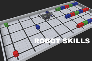 VEX Highrise - Robot Skills 2014-15: Test your driving skills with VEX Highrise.