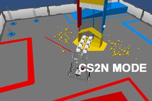 FTC Cascade Effect - CS2N Mode 2014-15: Autonomous challenge for Cascade Effect.