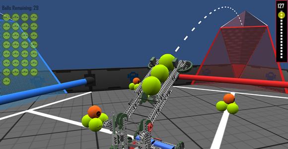 net but robotics field Vex nothing