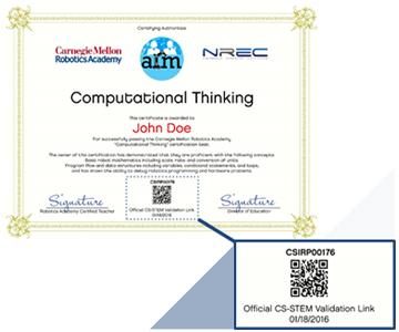 Certificateqr