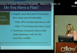 Importance of Estate Planning for Individuals with Disability