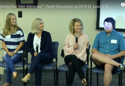 """Becoming Your Own Advocate"" – Panel Discussion at 2018 St. Louis CSF Meeting"