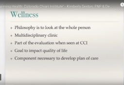 Reclaiming Health through Wellness: Chiari Malformation, Syringomyelia & Related Disorders