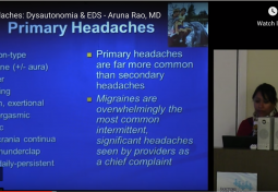 Headache & Headaches in Dysautonomia and Ehlers-Danlos Syndrome (EDS)