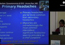 Headaches in the Chiari & Ehlers-Danlos (EDS) Populations