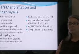 Consider Chiari: Chiari Malformation & Syringomyelia