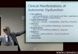 Sleep and Autonomic Disturbances