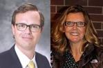 Dr. Robert Kellogg and Deirdre Fischer, MEd
