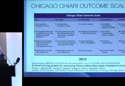 Measuring Outcome in Patients Undergoing Chiari Surgery