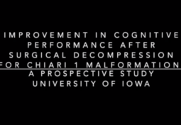 Improvement in Cognitive Performance after Surgery for Chiari I Malformation: A Prospective Study at the University of Iowa