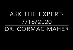 Bobby Jones CSF: Ask the Expert with Dr. Cormac Maher