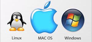 3 operating system logos