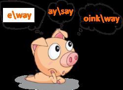 Pig thinking in Pig Latin