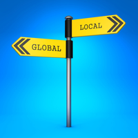 Global and Local directional signs