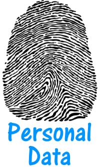 Personal data fingerprint